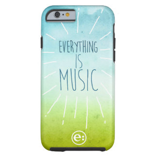 Everything is Music Summer Day iPhone Case