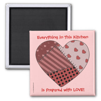 Everything Prepared with Love - TBA - Western Square Magnet