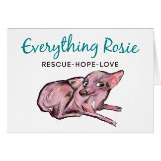 Everything Rosie Note Card