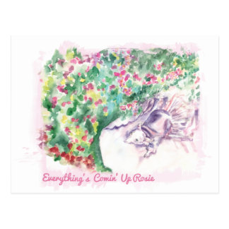Everything s Comin Up Rosie Postcard
