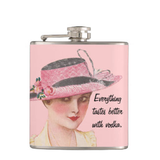 Everything Tastes Better With Vodka Hip Flask