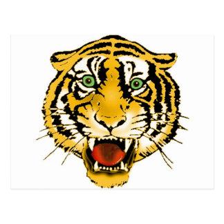 Everything Tiger Postcard