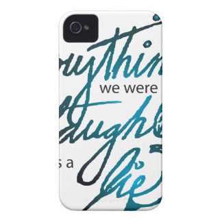 Everything We Were Taught iPhone 4 Case-Mate Cases