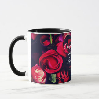Everything with Love - Rose Heart Mug