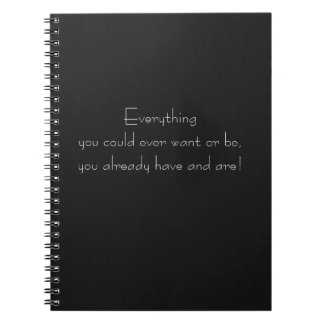 Everything You Could Ever Want Journal