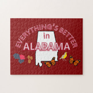 Everything's Better in Alabama Puzzle