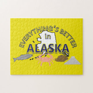 Everything's Better in Alaska Puzzle