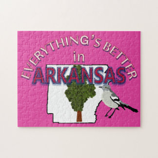 Everything's Better in Arkansas Puzzle