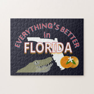 Everything's Better in Florida Puzzle