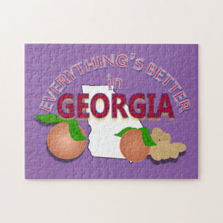 Everything's Better in Georgia Puzzle