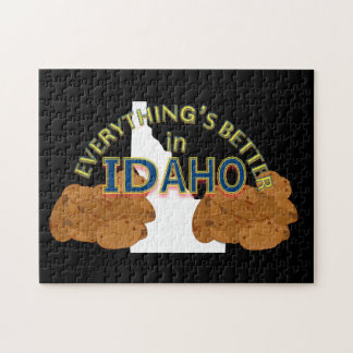 Everything's Better in Idaho Puzzle