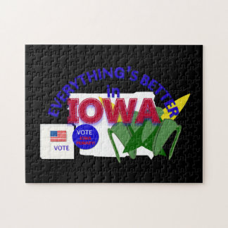 Everything's Better in Iowa Puzzle