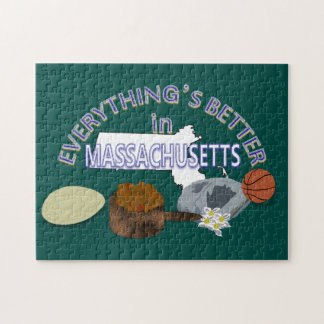 Everything's Better in Massachusetts Puzzle