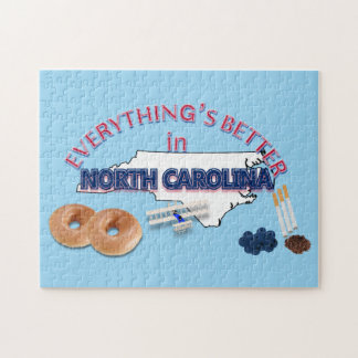 Everything's Better in North Carolina Puzzle