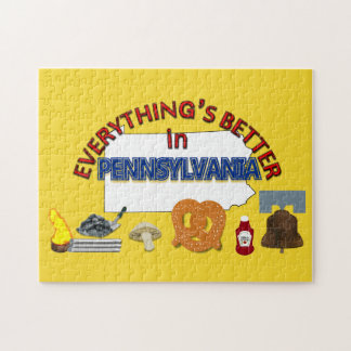 Everything's Better in Pennsylvania Puzzle