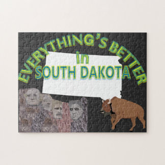 Everything's Better in South Dakota Puzzle