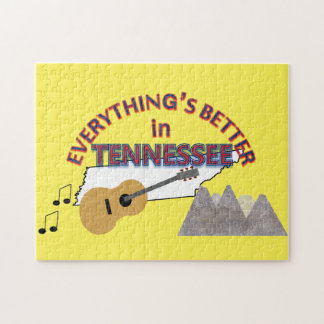 Everything's Better in Tennessee Puzzle