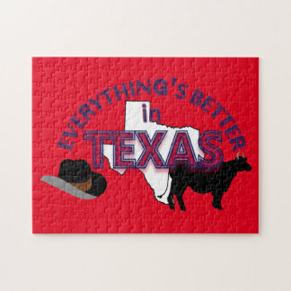 Everything's Better in Texas Puzzle