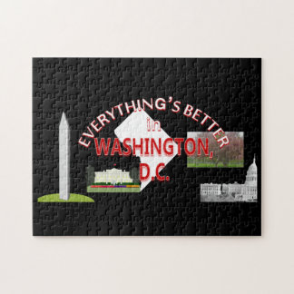 Everything's Better in Washington DC Puzzle