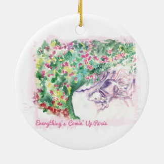 Everything's Comin' Up Rosie ornament