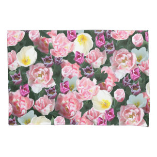 Everything's coming up tulips pillowcase
