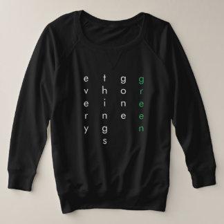 everythingsgonegreen plus size sweatshirt