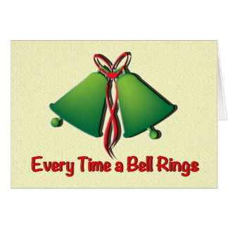 Everytime a bell rings... Christmas card