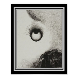 """""""Everywhere Eyeballs Are Aflame""""  16x20 Poster"""