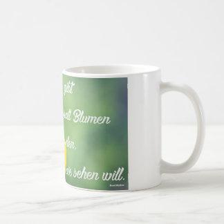Everywhere flowers coffee mug
