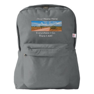 Everywhere I Go, There I AM! Backpack