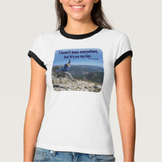 Everywhere is On My List T-Shirt