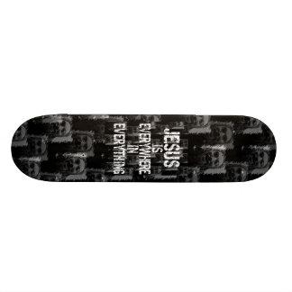 Everywhere - Jesus is Everywhere Custom Skate Board