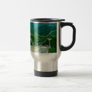 Everywhereness Great Wall Of China 15 Oz Stainless Steel Travel Mug