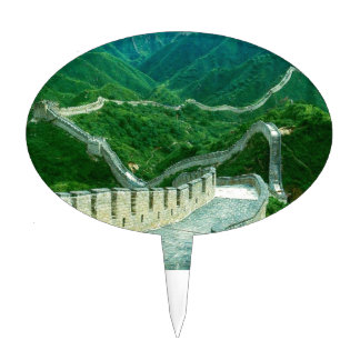 Everywhereness Great Wall Of China Cake Picks