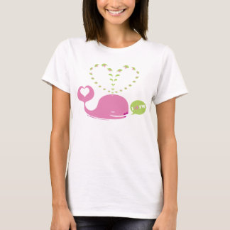 EveWhale Ladies Baby Doll T-Shirt