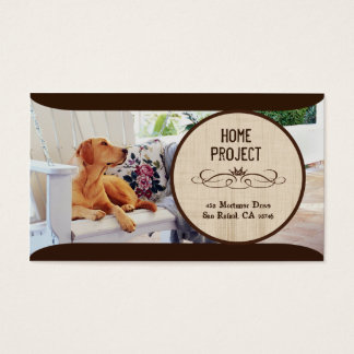 Evey's Home Project Business Cards