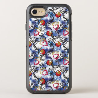 Evie Apple Logo Pattern OtterBox Symmetry iPhone 7 Case