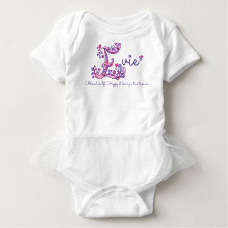 Evie girls name & meaning E monogram shirt