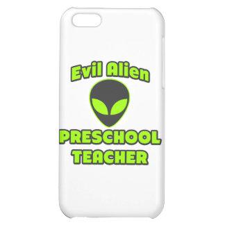 Evil Alien Preschool Teacher iPhone 5C Cover