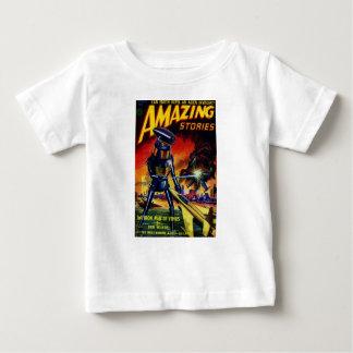 Evil Alien Robot Baby T-Shirt