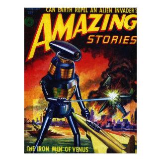 Evil Alien Robot Letterhead