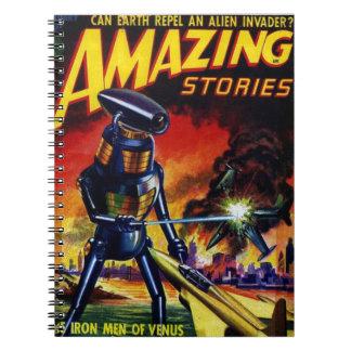 Evil Alien Robot Notebook