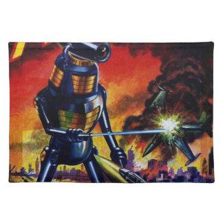 Evil Alien Robot Placemat