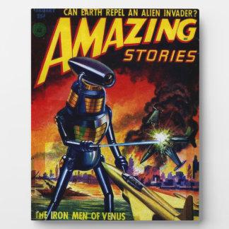 Evil Alien Robot Plaque