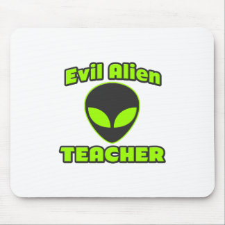 Evil Alien Teacher Mouse Pad
