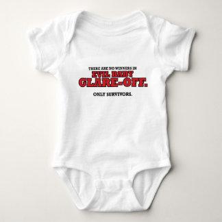 Evil Baby Glare-Off Tournament Commemorative Onesi Baby Bodysuit