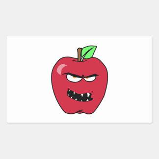 Evil Bad Apple Sticker