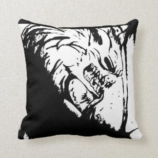 Evil Bat Throw Pillow