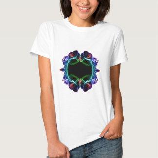 Evil Blowfish Psychedelic smokeblot 048 T-shirts