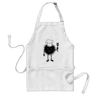 Evil Bug Chef Loves To Cook Standard Apron